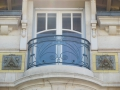 Nancy Art Nouveau houses Maison de Mme veuve Geschwindammer top balcony