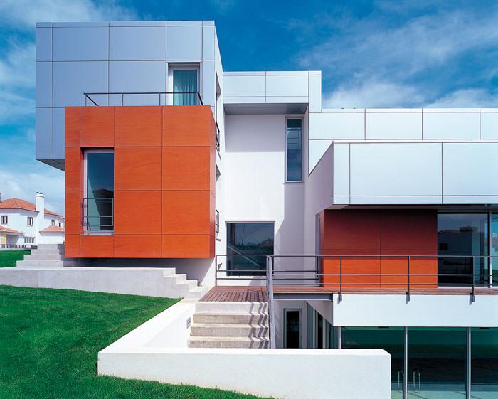 Особенности вентилируемых фасадов из композита