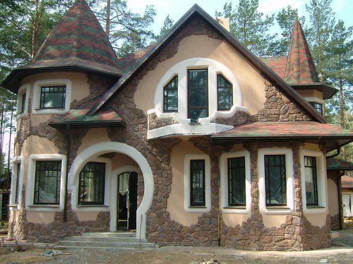 Штукатурка для фасада частных домов