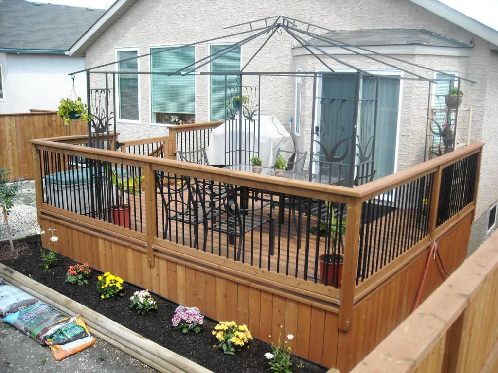 Террасы и балконы своими руками 245