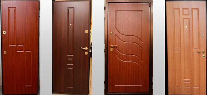 Отделка входных дверей